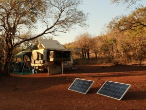 Errol240W Camping at KNP
