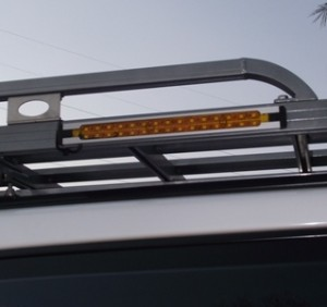 LED Aluminium Light 30 x 9 double row